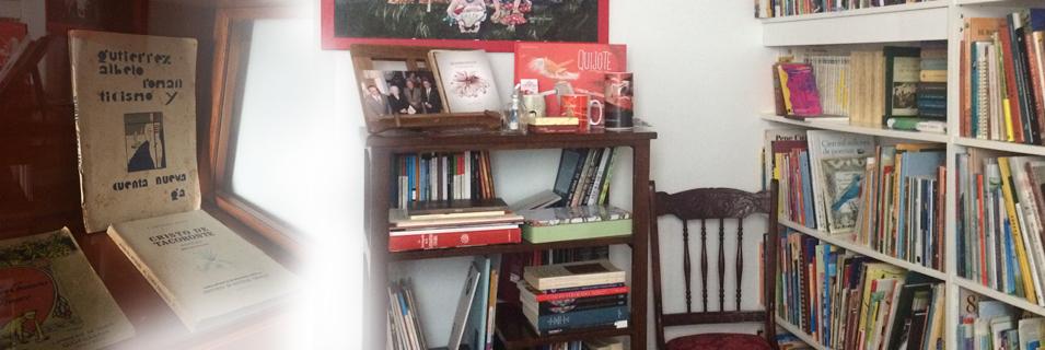 """Tertulias literarias de  la """"Casita de papel"""""""
